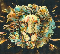 LION Album Artwork | Jacqui Oakley Illustration & Hand-Lettering