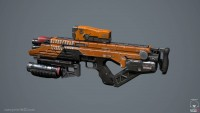 Elysium SMG - Polycount Forum