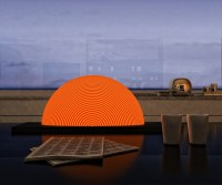 Sunrise Lamp Design by Natalia Rumyantseva