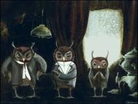 the Brothers KaramazOwl by barbarasobczynska