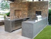 Outdoor Living - contemporary - patio - new york - by Trueform Concrete