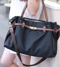 shego shopping mall — [GRLHX120125]SIMPLE DESIGN CNAVAS HANDBAG SHOULER BAG