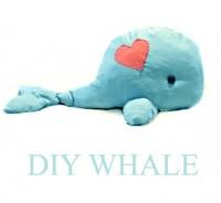 DIY Whale. | Sew Fun! | Pinterest