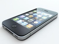 Iphone4 3d Render by Ali Hammoud