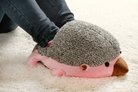 Hedgehog Baby USB Heating Soft Warm Shoes from sweetsinthebox on Storenvy