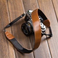 Leather DSLR Canon Nikon Camera Strap from sweetsinthebox on Storenvy