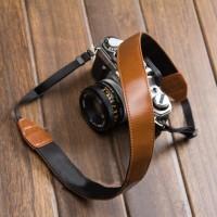 Leather DSLR Canon Nikon Camera Strap from sweetsinthebox on Storenvy
