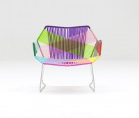 View Tropicalia armchair stainless w. arms of Moroso