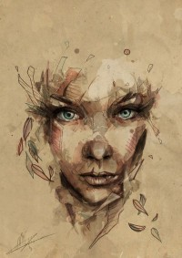 Portrait Illustrations by Mario Alba | Inspiration DE