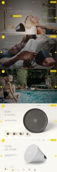 Aether | Web Design | Pinterest