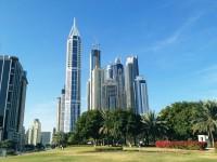 Dubai Skycrapers - Stock Photo - FreebiesXpress