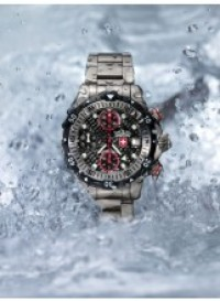 CX SWISS MILITARY 20000 feet DIVING WATCH WORLD RECORD ETA 7750 BLACK DIAL - 20000 FEET - CX SWISS MILITARY