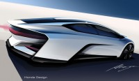 Honda FCEV Concept - Car Body Design