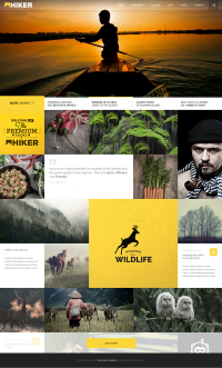 HIKER - Photography WP Theme on