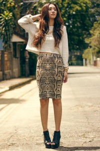 "Pencil Skirt H&M Skirts, Cropped Kates, Katy Sweaters | ""Sport and Snake"" by AiB 