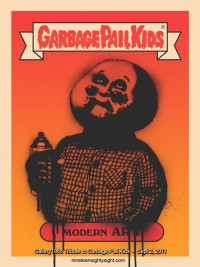 Garbage Pail Kids Trading Cards Tribute Art Show At Gallery1988