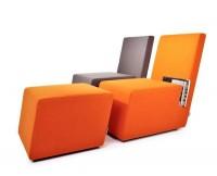 Cool Reading Corner With Original Storage System | Home Design | Interior | Architecture | Furniture | Garden