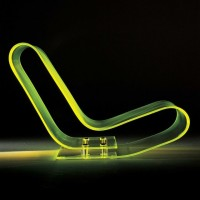 Low Chair Plastic Design by Maarten van Severen