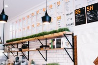 Juice Served Here, Bells & Whistles - Restaurant & Bar Design