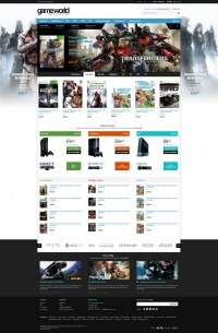 Game Store Shopify Theme – GameWorld | Inspiration DE