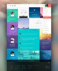 Panels Dashboard by Cosmin Capitanu | Inspiration DE