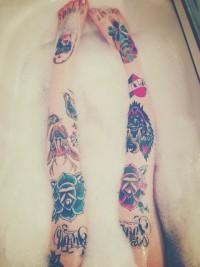 Ink Mark: Knee Tattoo | Inspiration DE