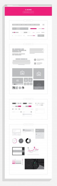 Free Smarter Wireframe and UI Kit | Downgraf