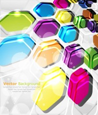ABSTRACT / colorful abstract elements 06 vector