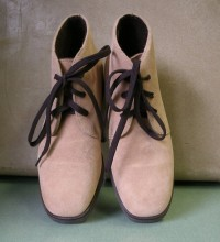 90's Unworn Hush Puppies Desert Boots Waterproof ?? Fabstract