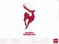 Happy Holidays - Logo Design by Gert van Duinen
