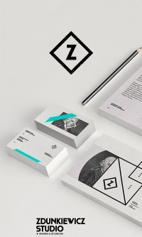 Identity / zdunkiewicz_studio_01 | Graphic Design — Designspiration