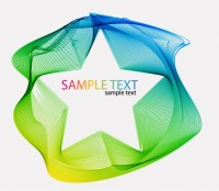ABSTRACT / Colorful Background Artwork Vector