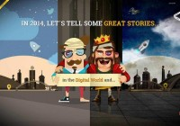 Web Design Inspiration 2014 (Trends 2014) | Downgraf
