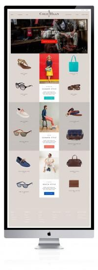 cole haan concept design | Webdesign | Pinterest