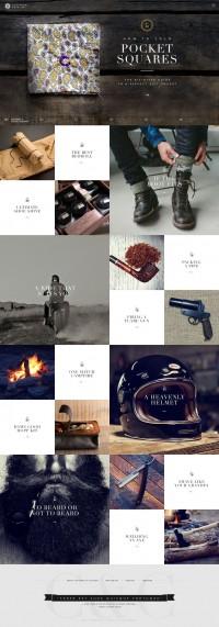 Cutthroat & Cavalier - Brijan #webdesign | Webdesign | Pinterest