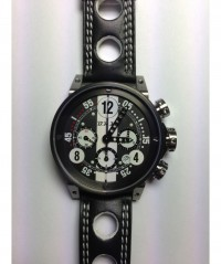 BRM RACING WATCH V13-44 AUTO PISTON CASE ETA VALJOUX 7753 BASE V13-44-N-CNBB-AN - V13-44 - BRM