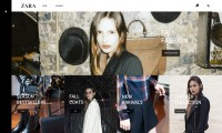 ZARA Web Redesign on