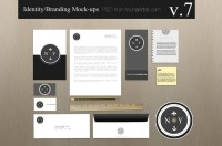 Branding Identity Mock-up v7 | Tech & ALL – Web Magazine for Web Designers and Developers