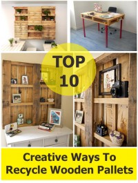 TOP 10 Creative Ways To Recycle Wooden Pallets | DIY Creative Ideas