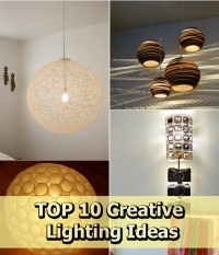 TOP 10 Creative Lighting Ideas | DIY Creative Ideas