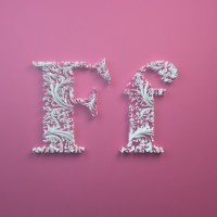 Paper Alphabet by Dan Hoopert – Fubiz™