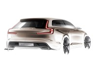 Volvo Concept Estate - Design Sketch by T. Jon Mayer - Car Body Design