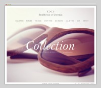 Websites We Love / The House of Eyewear — Designspiration