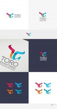 logo para TORO Advertising Logo design #164 by IvanHow | Inspiration DE