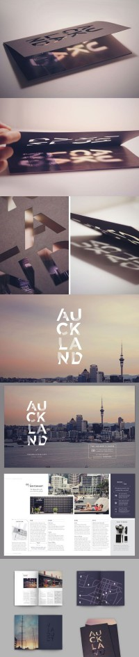 Auckland City Editorial Spread | Inspiration DE
