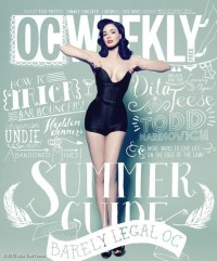 OC Weekly Dita Von Teese | Hipster – Design Project | Inspiration DE