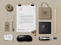Branding & Identity Mockup Vol 9 - FreebiesXpress