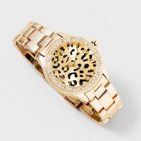 Luxe Leopard Watch | Claire's
