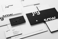 Logotype and stationery designed by Pentagram for production company Jigsaw. | Inspiration DE
