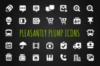 Pleasantly Plump Icons ~ Icons on Creative Market